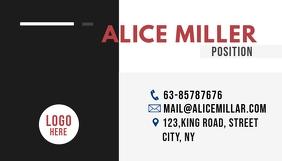 business card Carte de visite template
