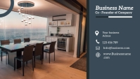 real estate flyer Business Card template