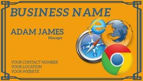 BUSINESS CARD Wizytówka template