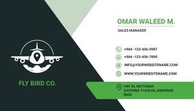 Business Card Визитная карточка template