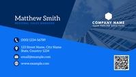 business card design Visitekaartje template