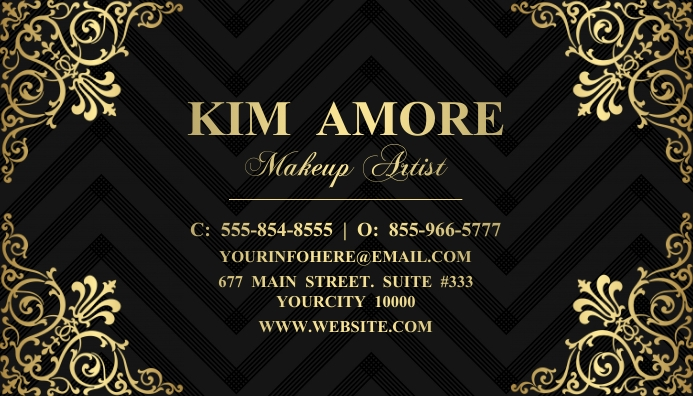 Business Card นามบัตร template