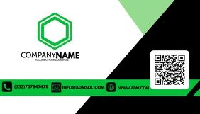 Business Card Tarjeta de Presentación template