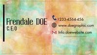 business card Visitenkarte template