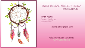 Business Card Dream Catcher