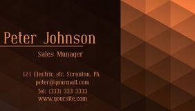 Business card elegant template
