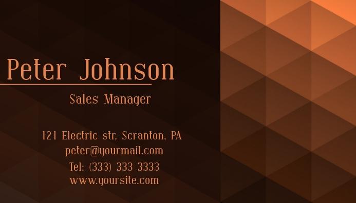 Business card elegant template Visitkort