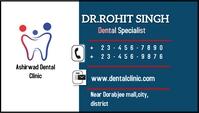 Business card flyer template