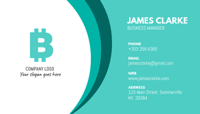 Customize 680 small business business card templates postermywall business card wajeb Images