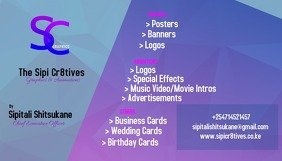 Business card graphic design นามบัตร template