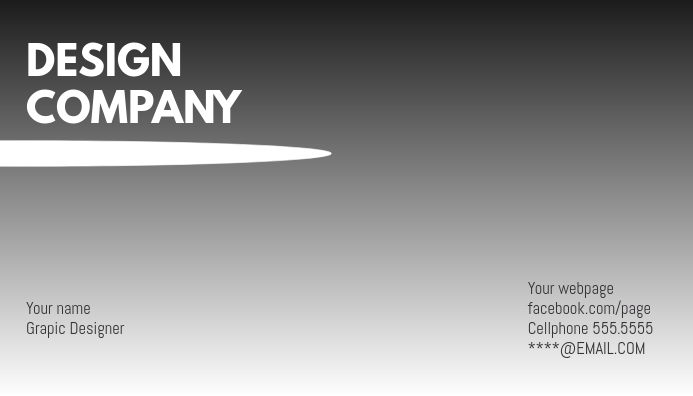 Business Card greyscale