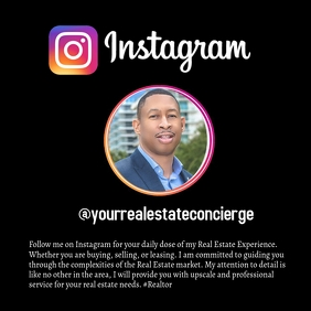 Business Card Instagram