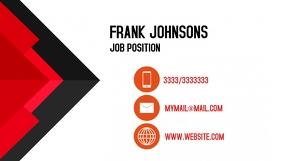 Business Card Job template