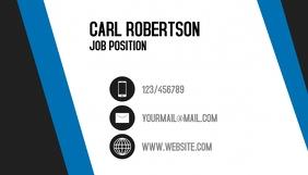 Business Card Job Wizytówka template