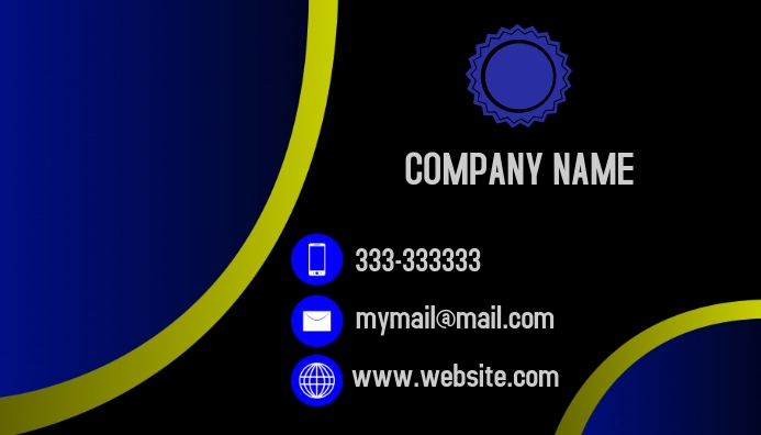 Business Card Job Kartu Bisnis template