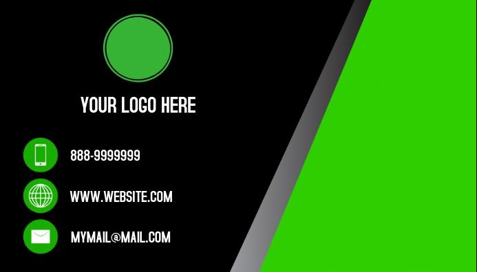 Business Card Job Visitkort template