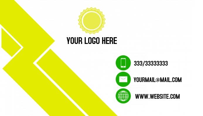 Business Card Job 名片 template