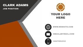 Business Card Job Ikhadi Lebhizinisi template