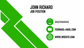 Business Card Job template