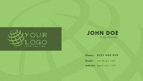 business card template Визитная карточка
