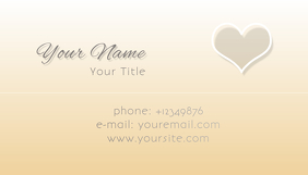 Business Card with Love