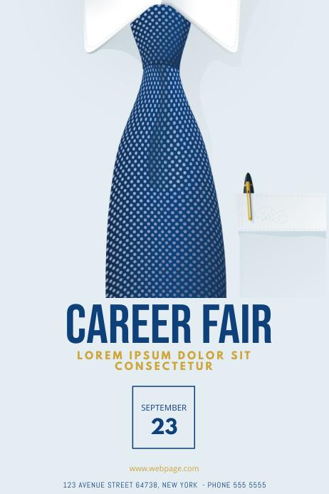 Business Career Job Conference fair template