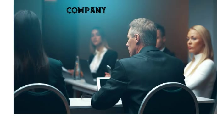 BUSINESS COMPANY Coverfoto til YouTube-kanal template