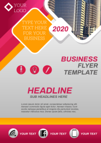 Business Company flyer A4 template
