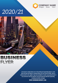 Business Company Flyer Template