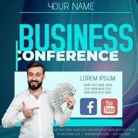 BUSINESS CONFERENCE AD TEMPLATE Logo