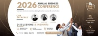 Business Conference Couverture Facebook template