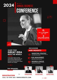 Business Conference A4 template