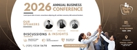 Business Conference Facebook Omslag Foto template
