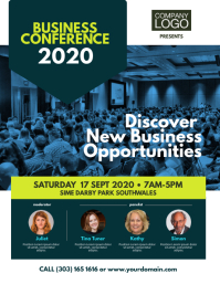 Business Conference Event Flyer