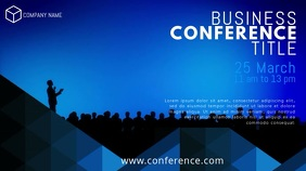 Business Conference Event Video Template 数字显示屏 (16:9)