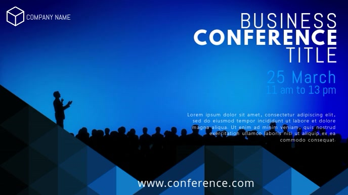 Business Conference Event Video Template