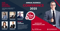 Business Conference Flyer Facebook Ad template