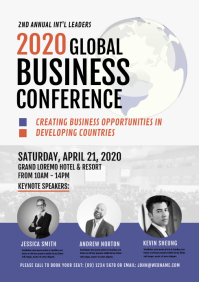 Business Conference Flyer or Poster