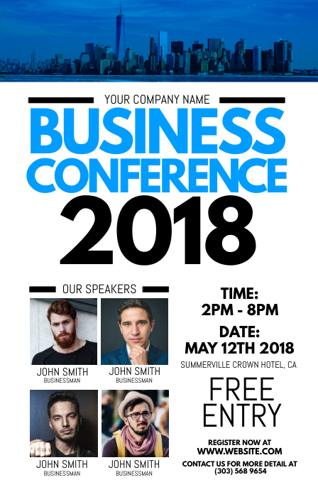 Business Conference Flyer