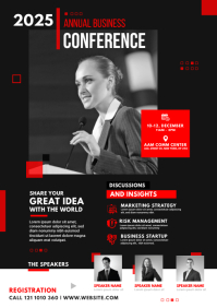 Business Conference Flyer Template A4