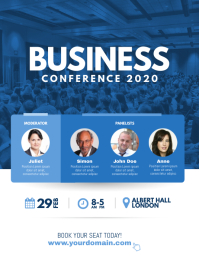 Business Conference Poster Flyer