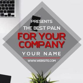 BUSINESS CONSULTING AD SOCIAL MEDIA TEMPLATE