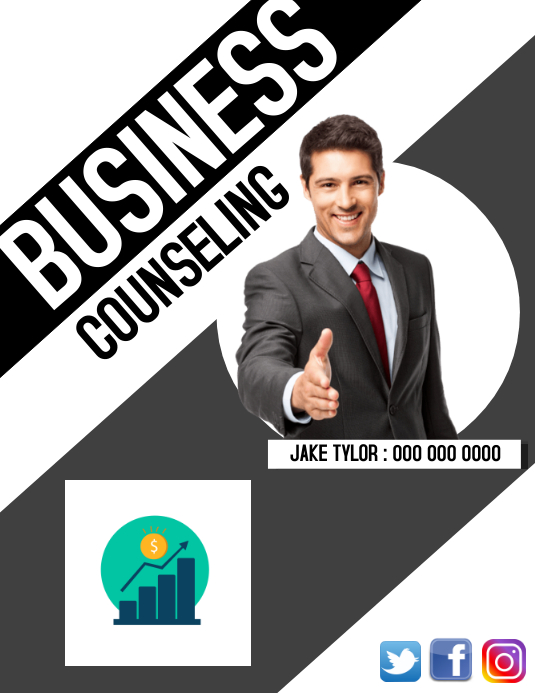 BUSINESS CONSULTING FLYER
