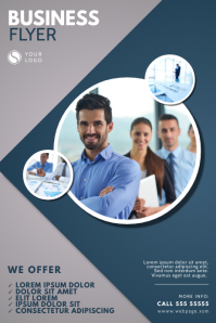 Business Corporate Flyer Design Template