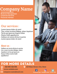business corporate flyer services advertiseme