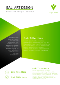 Business Cover Design Template A4