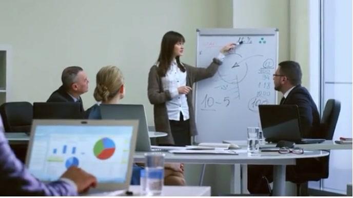 business Digital Display (16:9) template