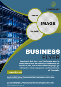business A4 template