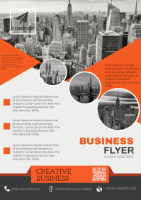 Business Company Flyer Modern Design