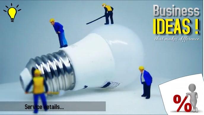 business Facebook 封面视频 (16:9) template